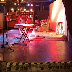Backstage im Haus 73